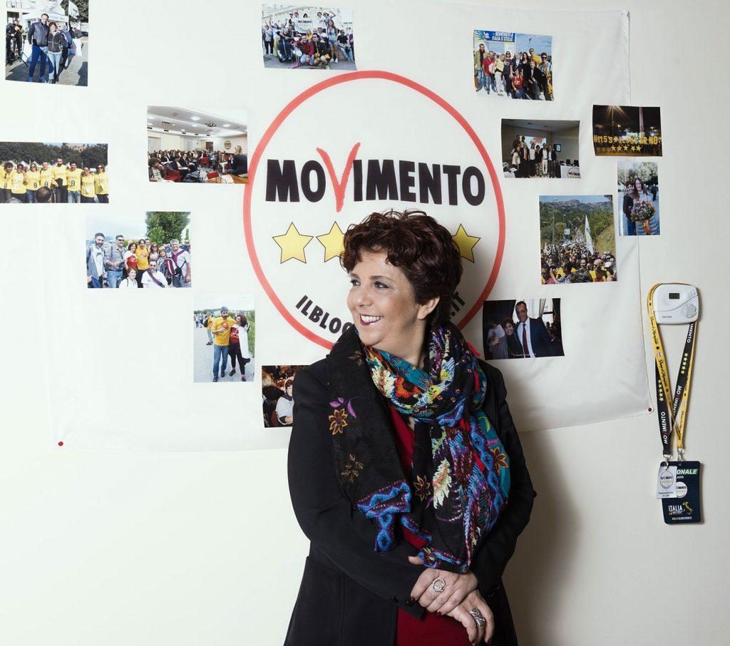 Francesca attivista.