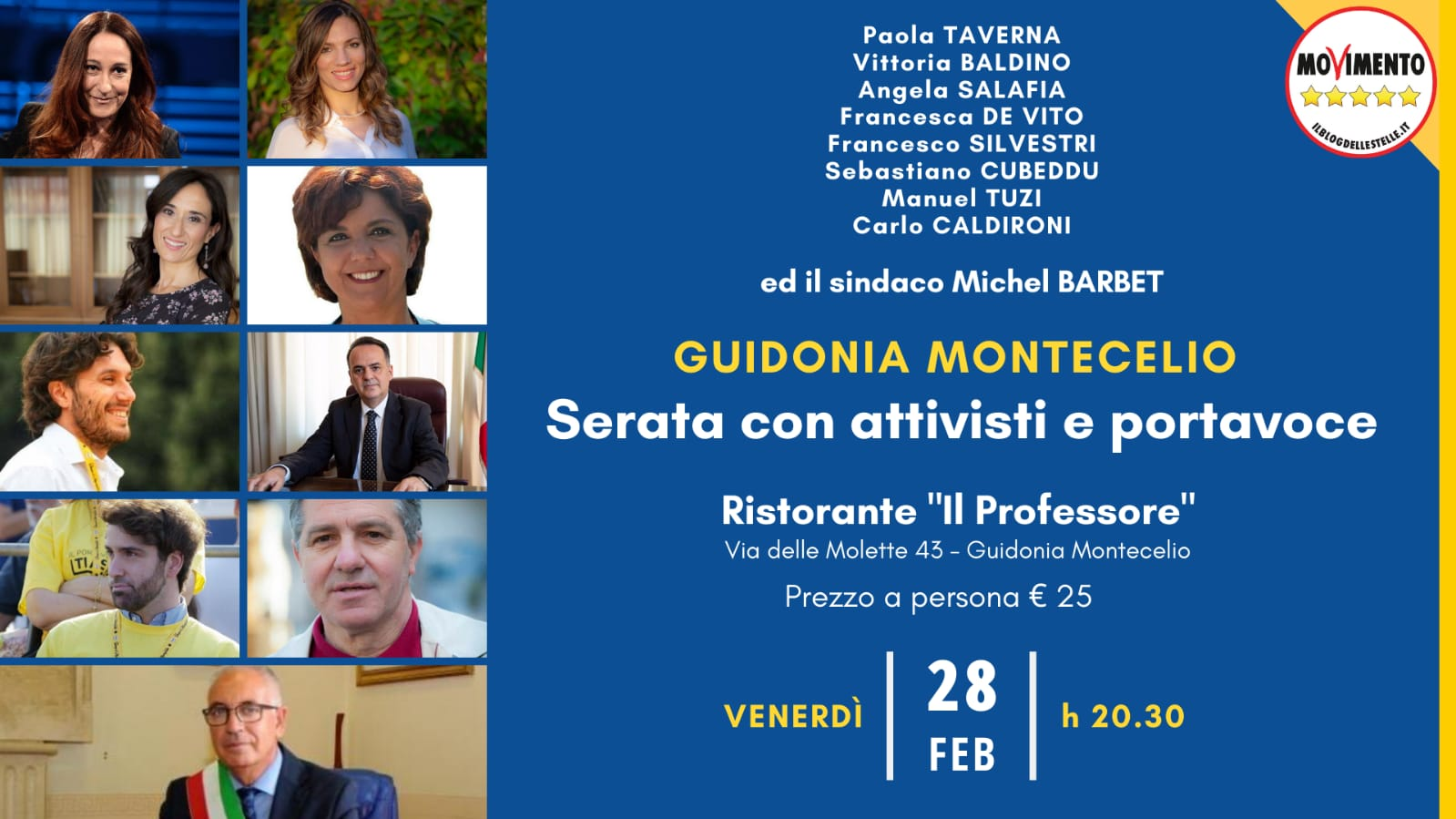 Evento Guidonia
