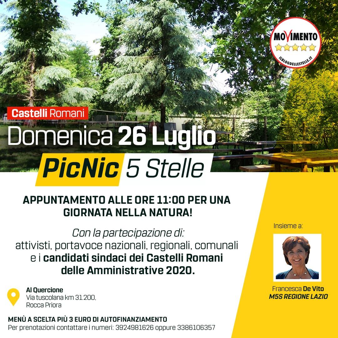 rocca priora evento picnic